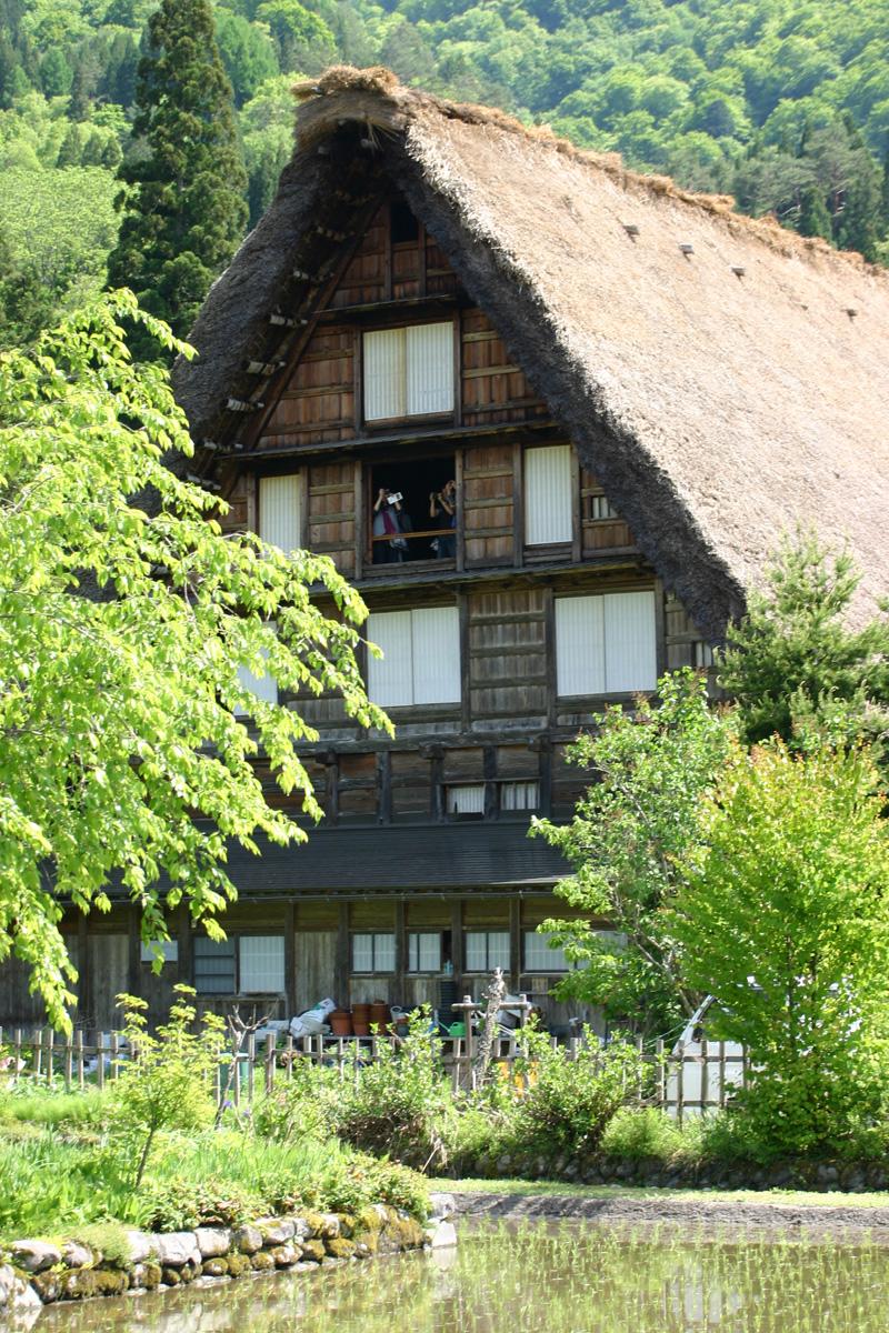 初夏は、ここ世界遺産で♪♪ 都会の雑踏を忘れ、自然豊かな「白川郷」に来ませんか!? ⑥