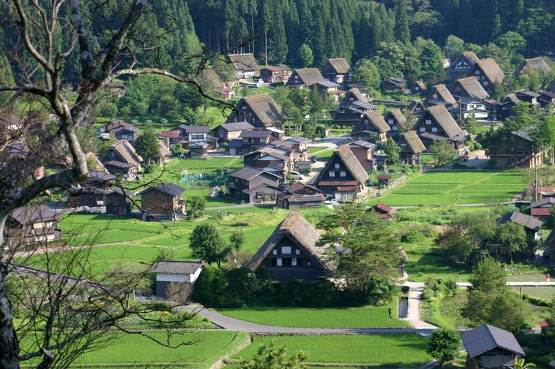 夏休み旅行計画♪ 今年も暑~い夏がやって参ります! 7月連休は正に避暑地に相応しい白川郷で過ごしてみませんか? ④