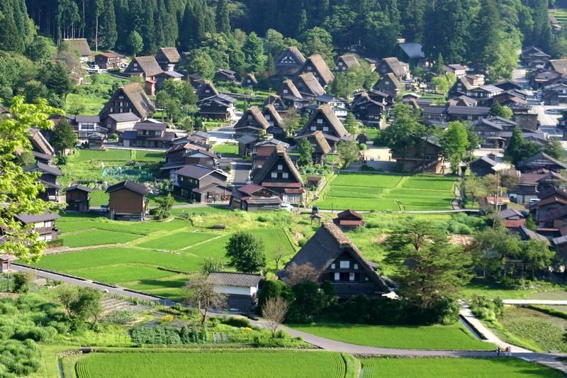 ~懐かしい日本の夏~ 夏のあの時・・・思い出す風景がある 世界遺産 白川郷合掌集落 ③