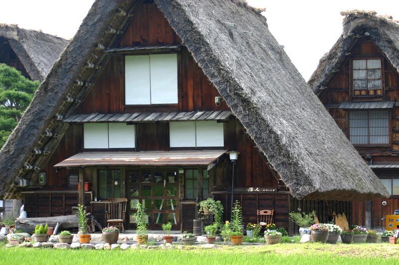 ~懐かしい日本の夏~ 夏のあの時・・・思い出す風景がある 世界遺産 白川郷合掌集落 ⑤