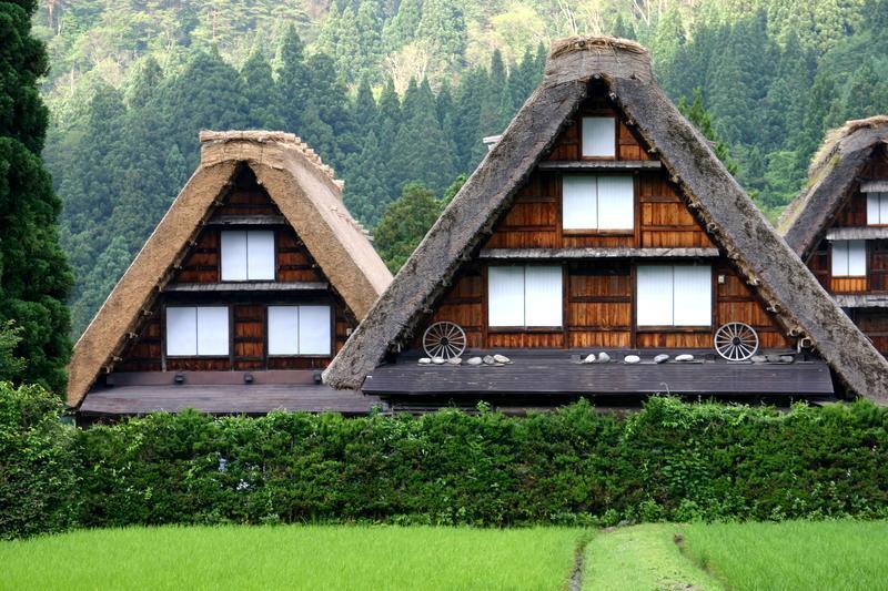 ~懐かしい日本の夏~ 夏のあの時・・・思い出す風景がある 世界遺産 白川郷合掌集落 ⑥