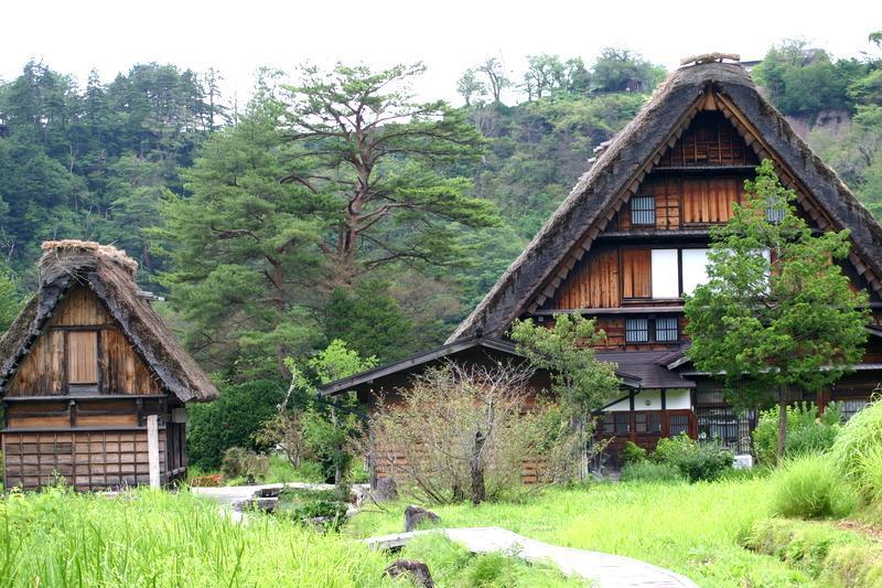 白川郷(日本の原風景が広がる世界遺産の合掌造りを散策) ⑥