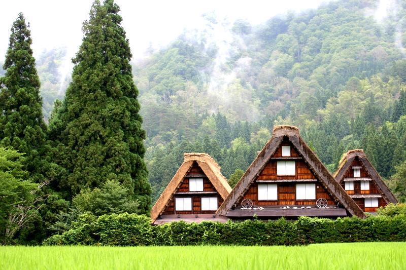 夏休み・・・世界遺産 白川郷の自然を満喫+温泉の楽しみをプラス ①