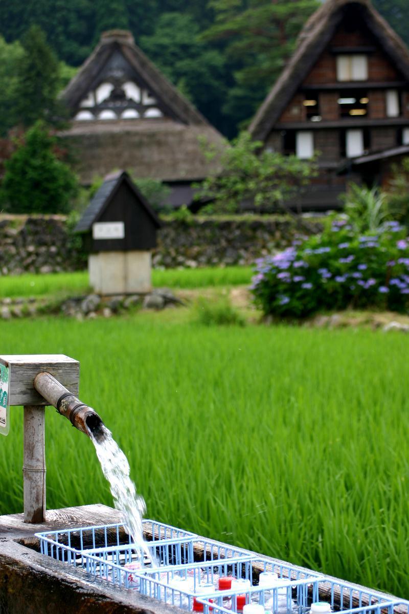 夏休み・・・世界遺産 白川郷の自然を満喫+温泉の楽しみをプラス ⑤