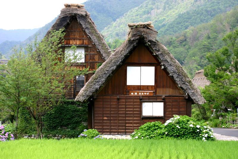 夏休み・・・世界遺産 白川郷の自然を満喫+温泉の楽しみをプラス ⑦