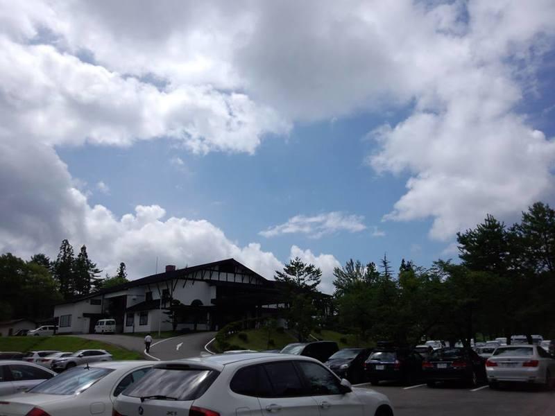 荘川高原カントリー倶楽部 入浴割引券付 リーフレット置いて頂きました。①