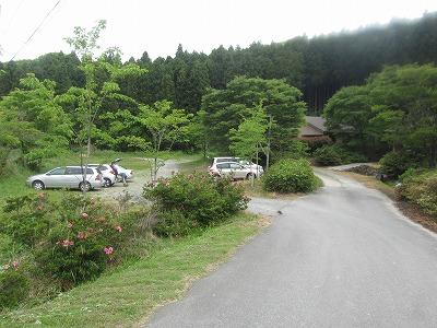 二丈岳駐車場