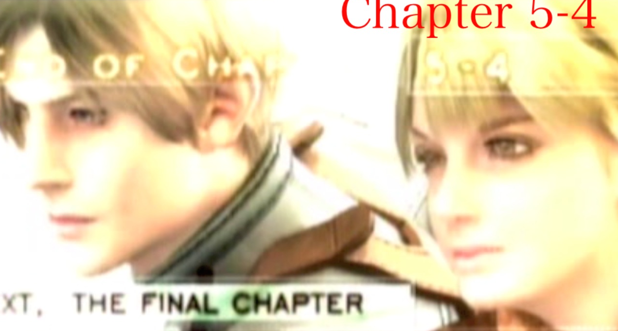 『バイオハザード4』「chapter5-4」