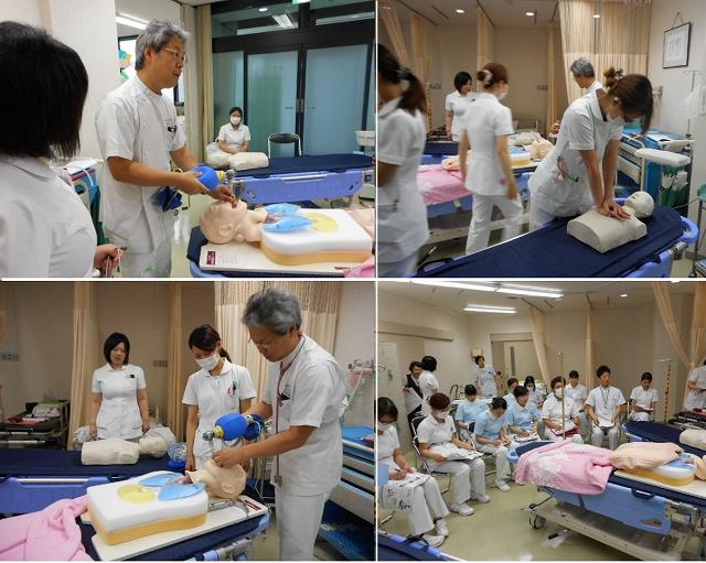 救急蘇生の学習会