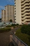 神戸市営復興住宅・ベルデ名谷。7番館低層棟屋上部にある「秘密の花園」。