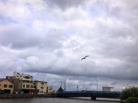 輪島川河口