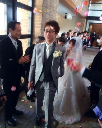 結婚式 フラワーシャワー