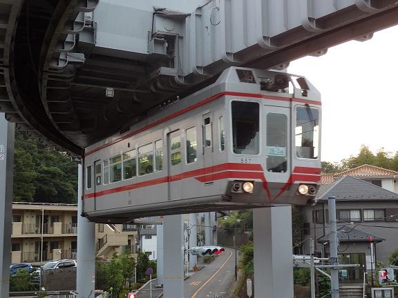 湘南モノレール 557F 西鎌倉