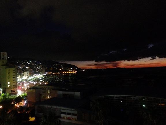 熱海港 夜明け
