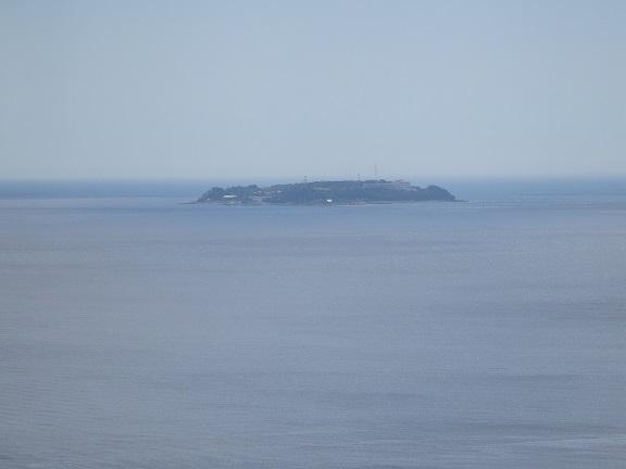 熱海城からの初島
