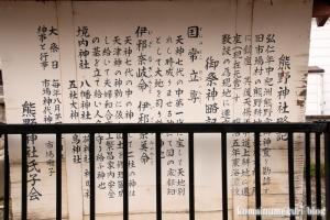 熊野神社(鶴見区市場東中野町)4