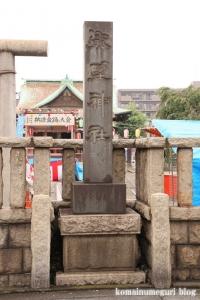 熊野神社(鶴見区市場東中野町)2