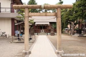 川中島神明神社(川崎区川中島)3