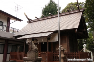 川中島神明神社(川崎区川中島)6