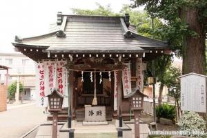 川中島神明神社(川崎区川中島)10