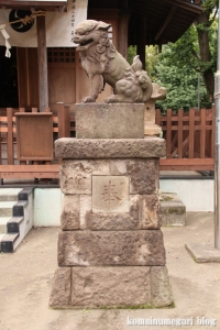 川中島神明神社(川崎区川中島)12