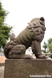 川中島神明神社(川崎区川中島)14