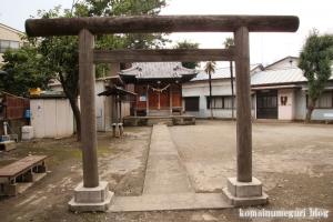 神明神社(幸区古川町)2