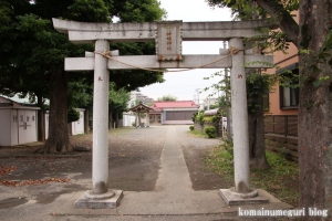 神明神社(幸区戸手本町)1