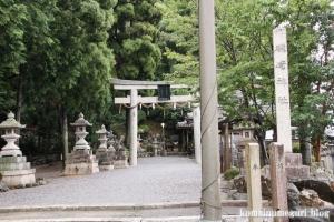 磯崎神社(滋賀県米原市磯)1