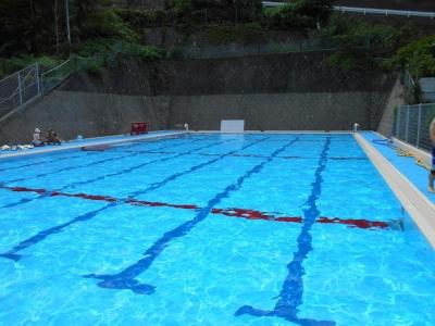 2014年7月27日 南牧小プール開放①