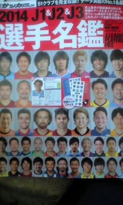 選手名鑑2014