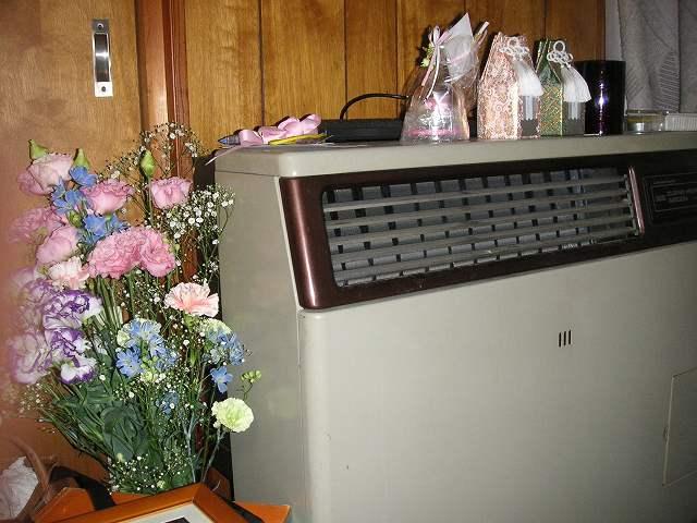 お花が贈られて