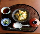 大浜大豆の豆腐丼