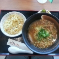 尾道ラーメン+ミニ炒飯