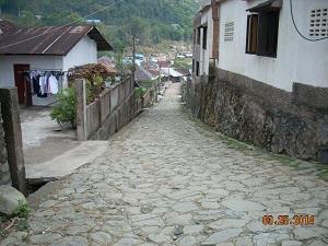 ⑥石畳の道