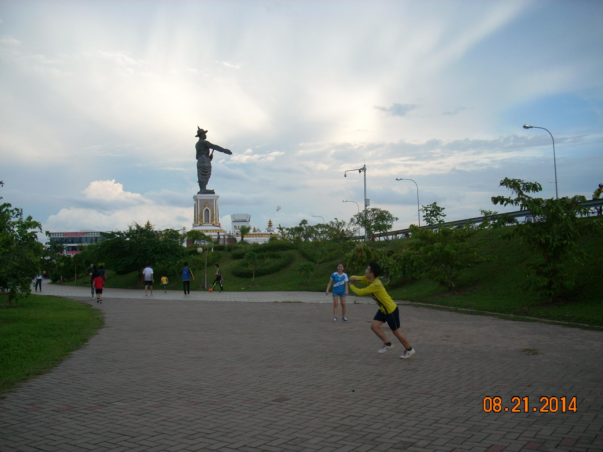アヌヴォン王公園広場2