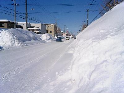 雪山がすっごいの