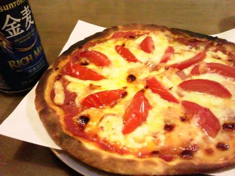 おつまみピザ