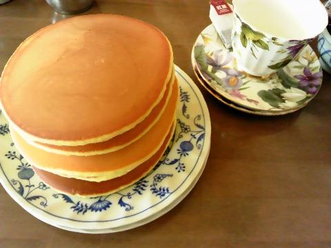 五枚のホットケーキ