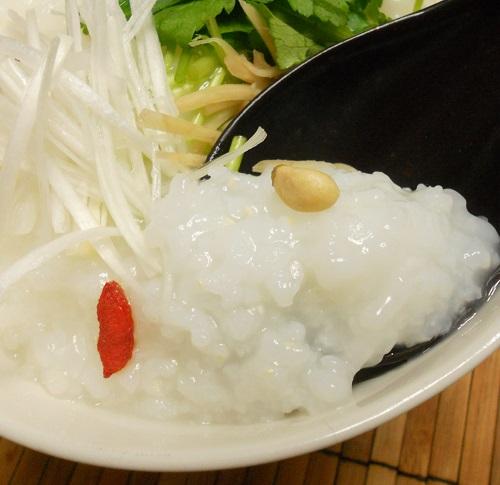中華がゆ白菜の甘酢漬け塩たまご12