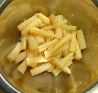 缶アスパラのマヨネーズ焼き2