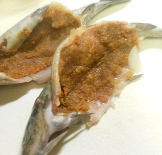 ニジマスのホイル焼ききのこご飯8