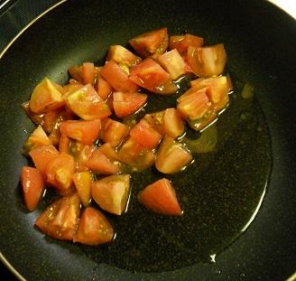 豚ばら肉とトマトのチャーハン5
