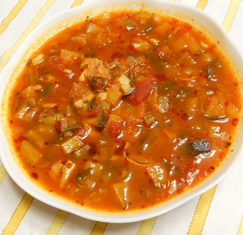 作りおきトマトスープ11