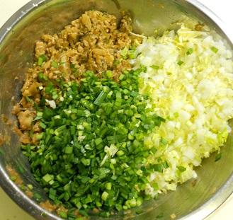 肉燥餃子10