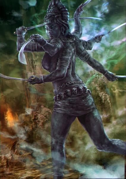 陰母神カーリー
