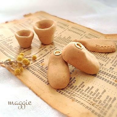 大人がはまる!セリアの「木かる粘土」でお洒落な雑貨が作れる♪