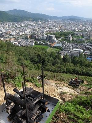 五山送り火消し炭1408