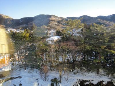 大雪から二日目