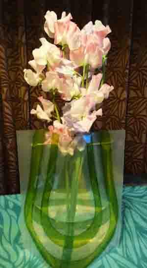 結婚記念日にもらったお花